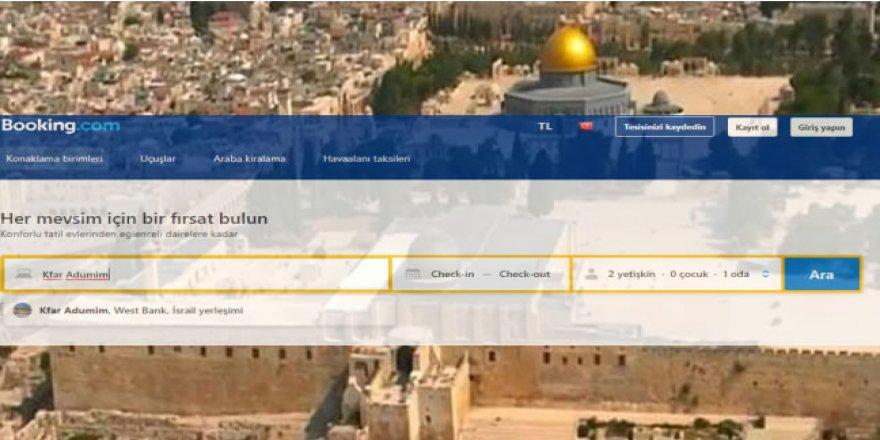 """Uluslararası Online Seyahat Firmalarından Filistin'de """"Dijital İşgal"""""""