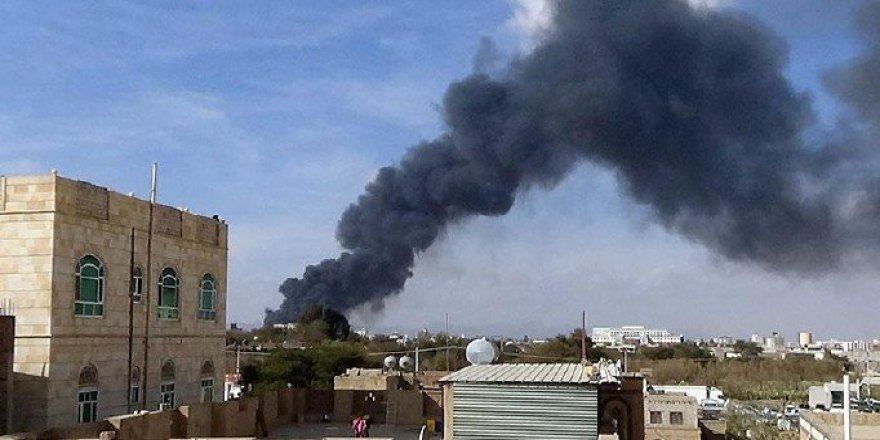 Yemen'de Hastaneye Hava Saldırısı