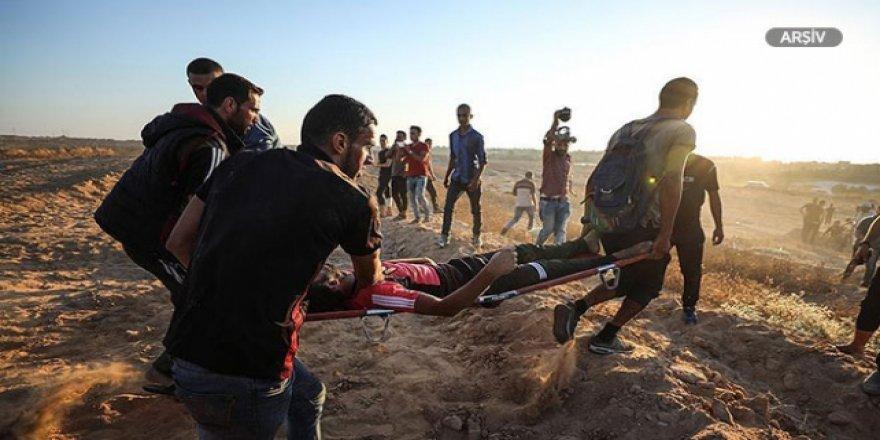 İsrail Askerleri Gösterilerde 5 Filistinliyi Yaraladı