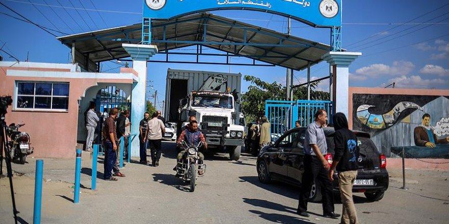 İsrail Kerm Ebu Salim ve Beyt Hanun Sınır Kapılarını Açtı