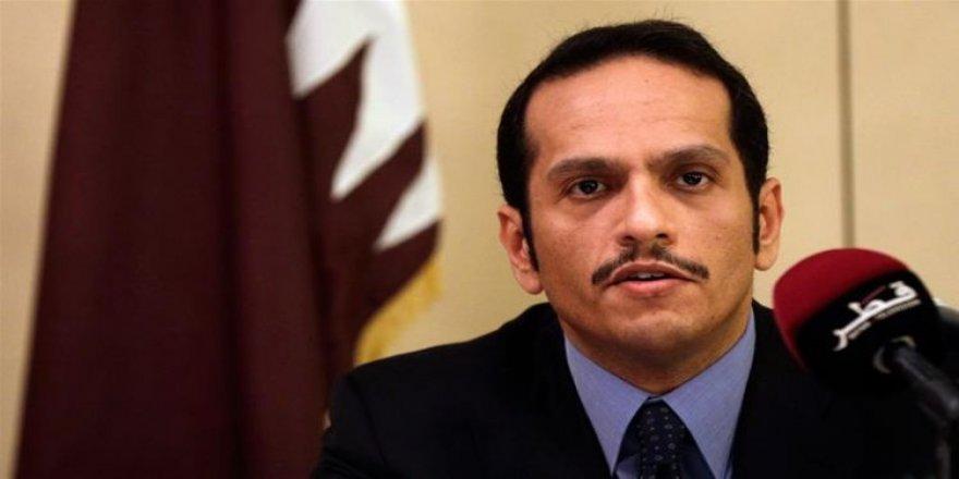 Katar Dışişleri Bakanı Al Sani: Körfez Krizi Müzakereyle Çözülür