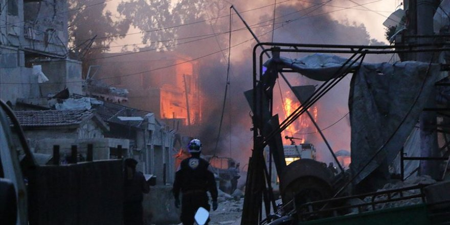 Katil Esed ve İşbirlikçileri İdlib'e Saldırılarını Sürdürüyor