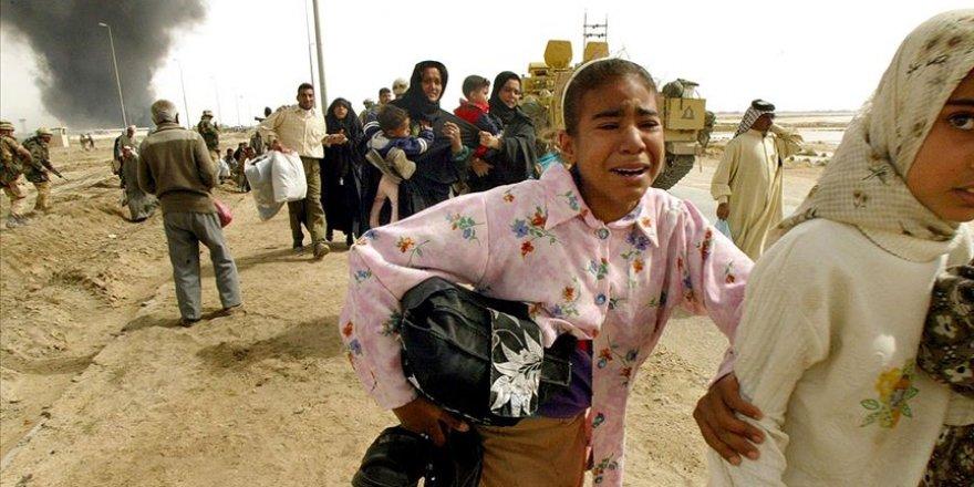 """""""Irak'ın İşgalinden Bu Yana Yarım Milyon İnsan Hayatını Kaybetti"""""""
