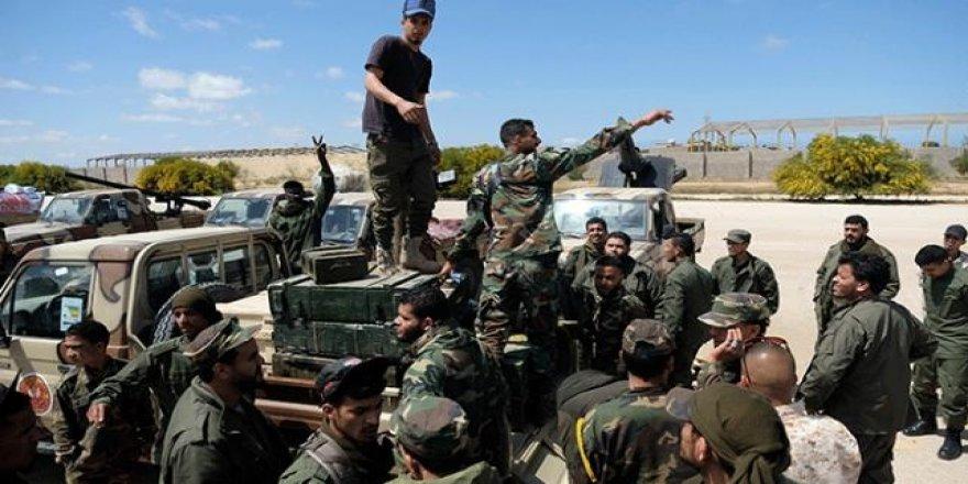 Trablus'un Güneyinde Şiddetli Çatışmalar Başladı