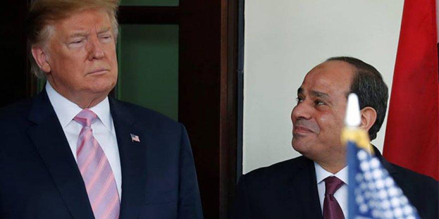 Trump ve kuklası Sisi Bir Araya Geldi