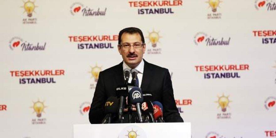AK Parti İstanbul'da Seçimlerin Yenilenmesi İçin YSK'ya Gidecek