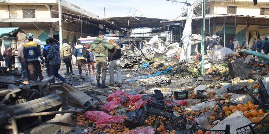 El-Bab'da Hayvan Pazarına Bombalı Saldırı