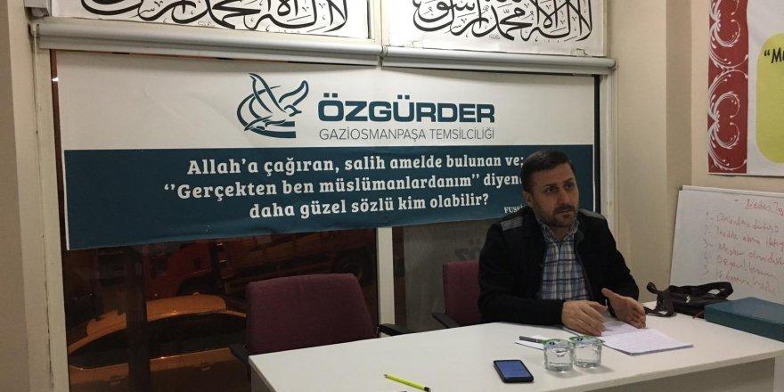 "Gaziosmanpaşa'da ""Kader ve Kaza"" Konuşuldu"