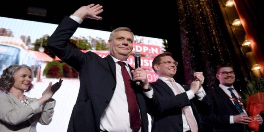 Finlandiya'da Sosyal Demokratlar 20 Yıl Sonra Birinci Oldu