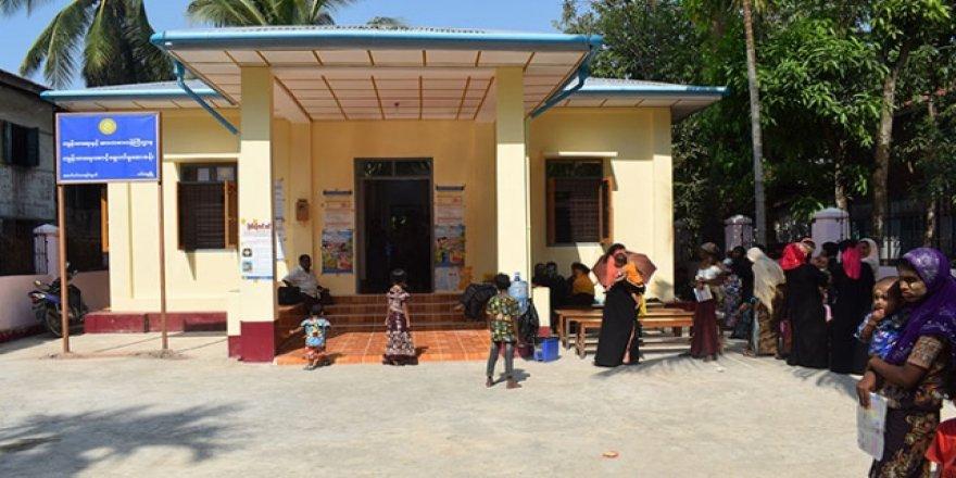 TİKA'nın Arakan'da Yaptırdığı Sağlık Kliniği Hizmete Başladı