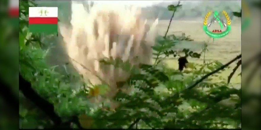 Arakanlı Direnişçilerden Myanmar Ordusuna Bombalı Saldırı