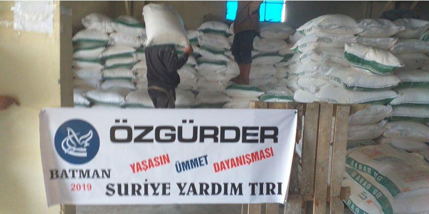 Fetih-Der ve Özgür-Der İdlib'de Günlük 4 Bin Ekmekle Yetim ve Muhtaç Ailelere Destek Oluyor