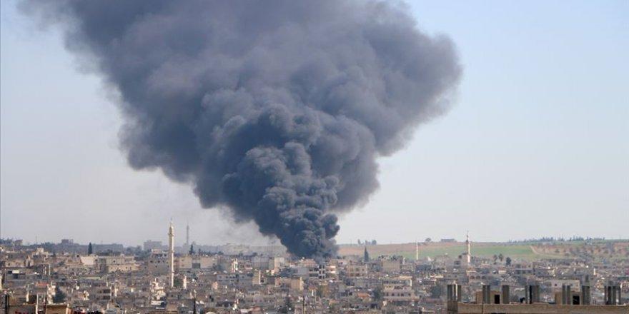 İdlib'e Saldıran Katil Rusya 5 Sivili Katletti