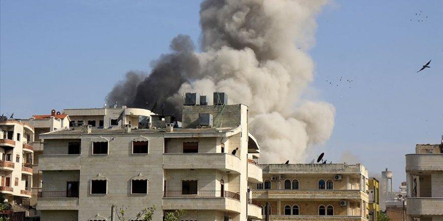 Esed Rejimi ve İran İdlib'de Sağlık Merkezi ve Doğum Hastanesi Vurdu