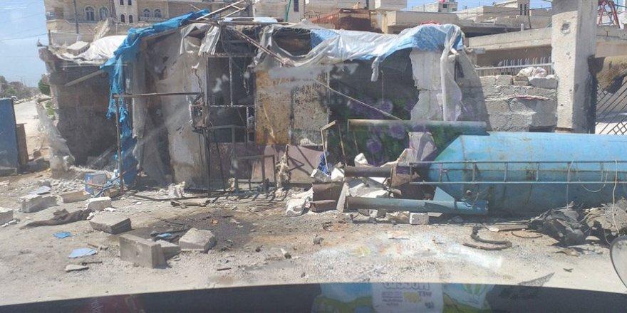 Fetih-Der ve Özgür-Der'den Bombardıman Altındaki Han Şeyhun'a Yardım