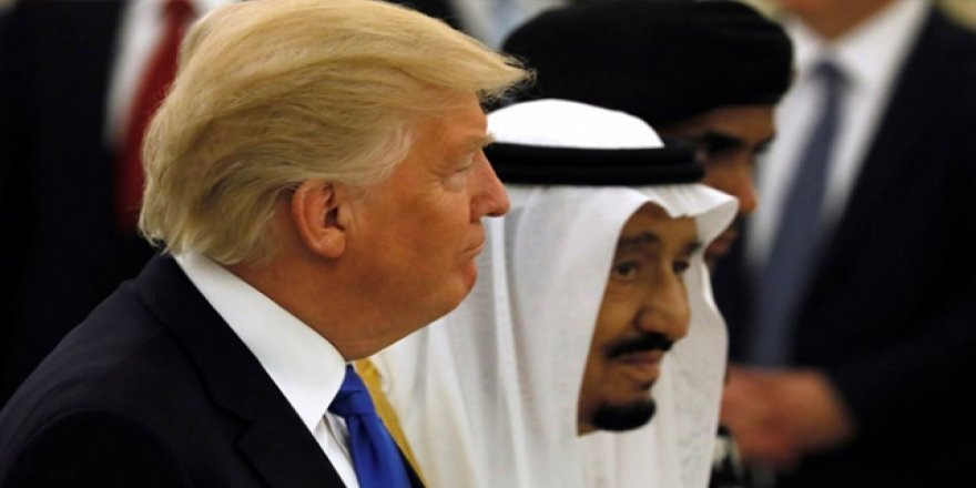 Trump'tan Kral Selman'a: Sizi Savunmak İçin Yırtınıyoruz