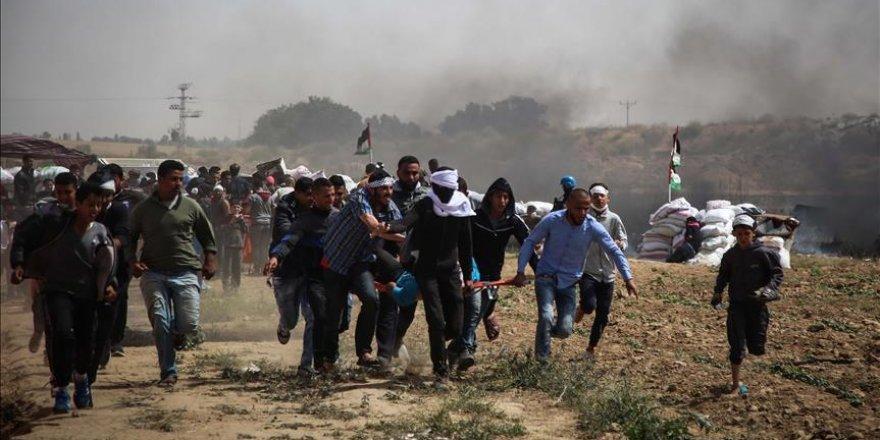 İsrail Ordusu 4 Filistinliyi Şehit Etti