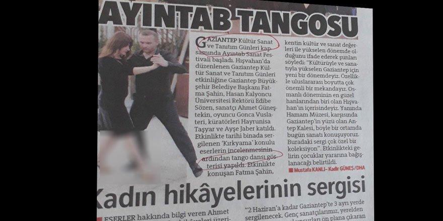 Balo ve Tango'yla Antep'i Yükseltme Komedisi