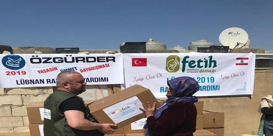 Arsel Mülteci Kampı'na Yardımlar Ulaştırıldı