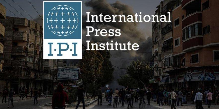 Uluslararası Basın Enstitüsü İşgalci İsrail'i Kınadı