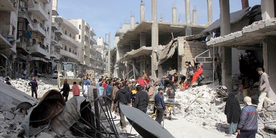 BM: İdlib'e Yönelik Hava Saldırıları 'Alarm Verici'