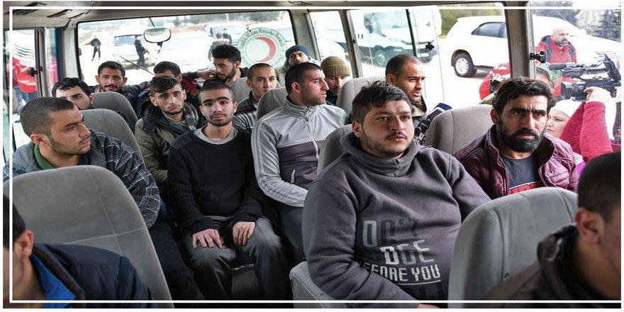 Suriyeli Muhalifler ve Rejim Arasında Esir Takası Gerçekleşti!