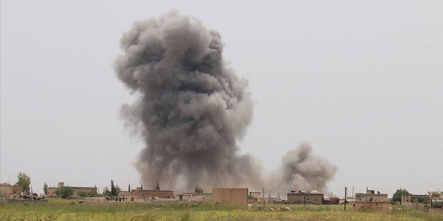 Katil Esed ve İşgalci Rusya İdlib'e Yoğun Saldırılarını Sürdürüyor