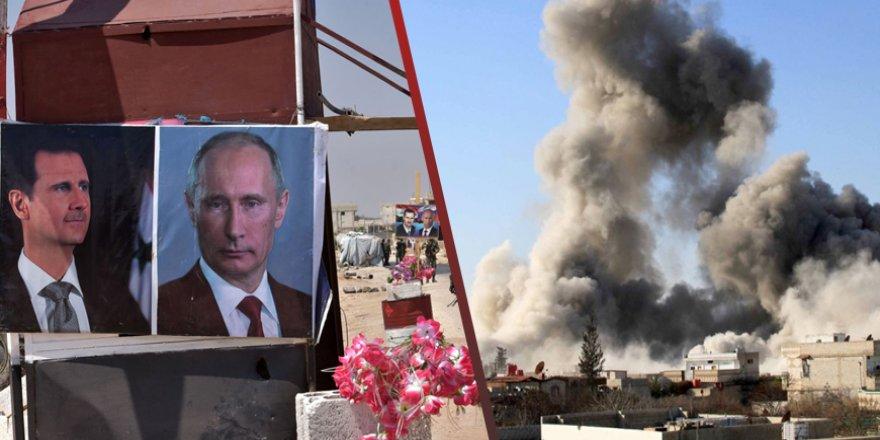 Rusya ve Rejim İdlib'teki Saldırılarını Artırıyor!