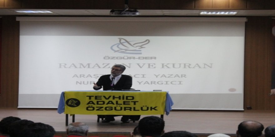 Kulp Özgür-Der'de Ramazan ve Kur'an Konferansı