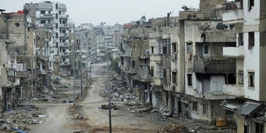 Viraneye Dönüşmüş Halep'i ve Onu Bu Hale Getirenleri Unutmayalım!