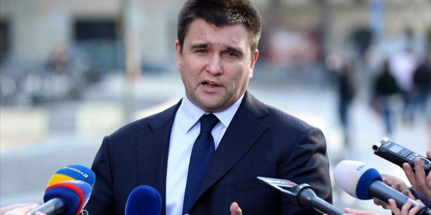 Ukrayna Dışişleri Bakanı İstifa Etti