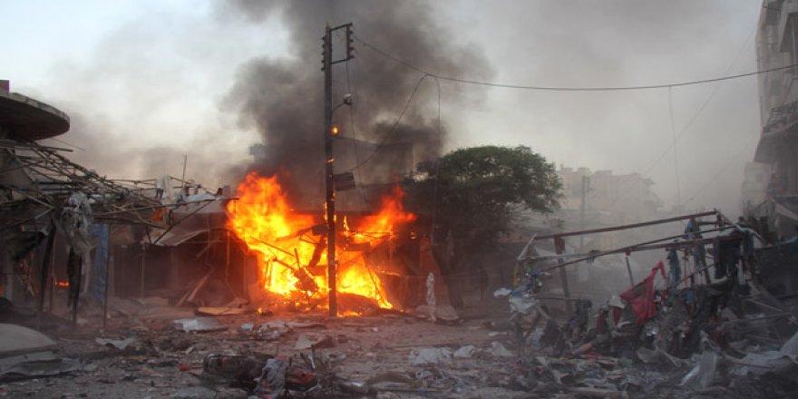İdlib Gerginliği Azaltma Bölgesi'ne Saldırı