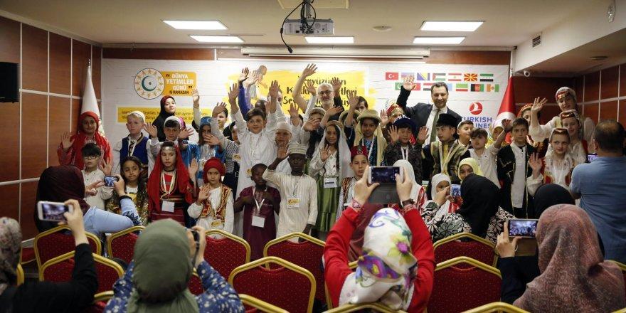 İHH'nın Organizasyonu İle 15 Ülkeden 50 Yetim İstanbul'da Buluştu