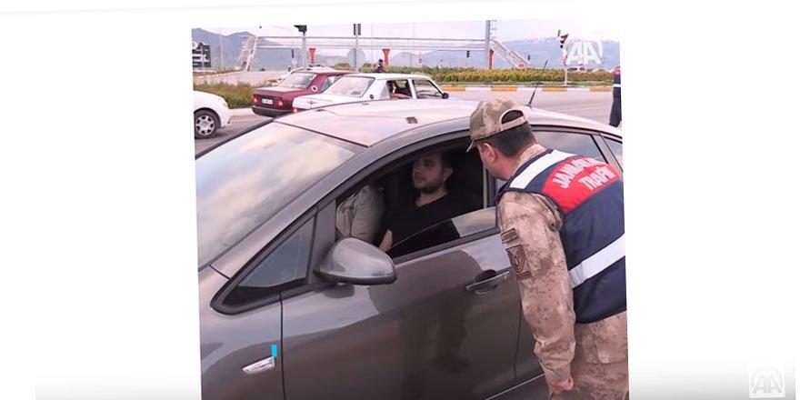 Jandarma Sürücüleri İftara Davet Etti