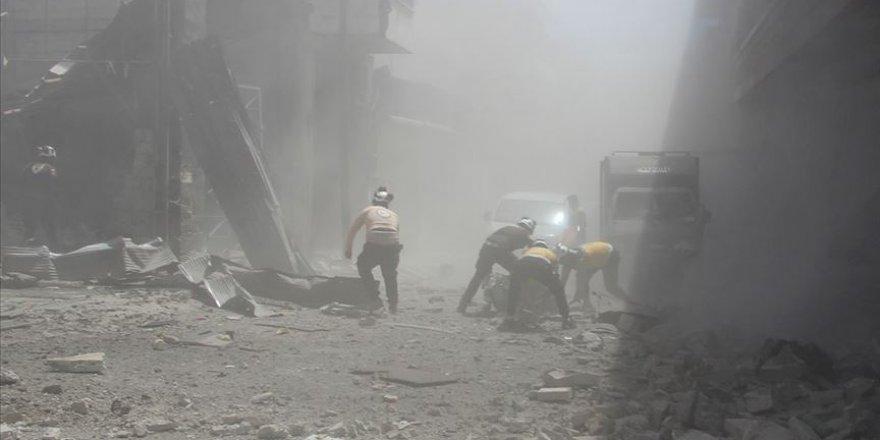 İdlib'e Dönük Hava Saldırısında 6 Sivil Katledildi