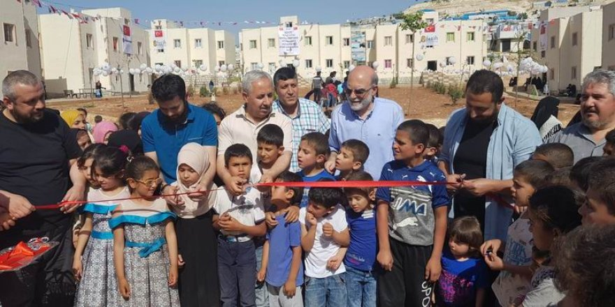 Abdulhamit Han Yetim Yaşam Merkezi İdlib'te Açıldı