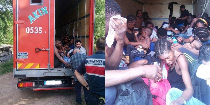 Kocaeli'de 35 Düzensiz Göçmen Yakalandı