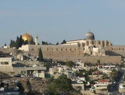 """Mescid-i Aksa İsrail Toprağı Olmayacak"""