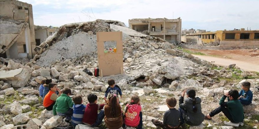 İdlib ve Hama'da Nisan Ayında En Az 38 Çocuk Katledildi