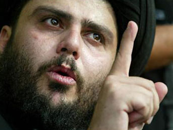 Mukteda Sadr'dan Protestoculara Destek