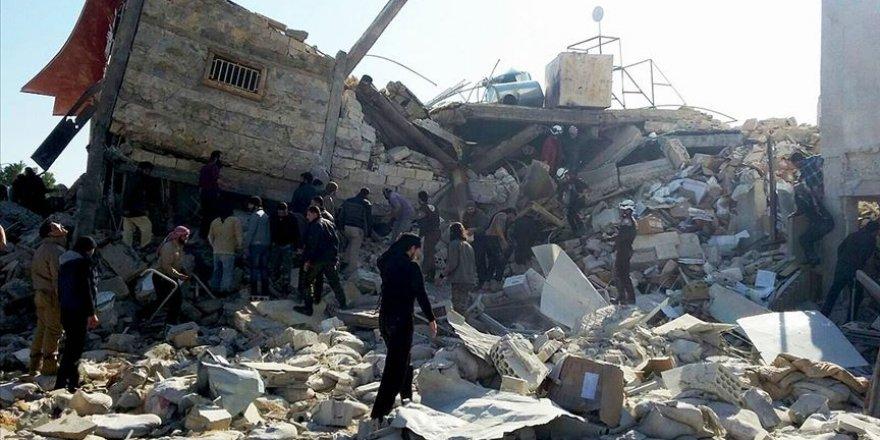 İdlib'de Bir Ayda 24 Sağlık Tesisi Vuruldu
