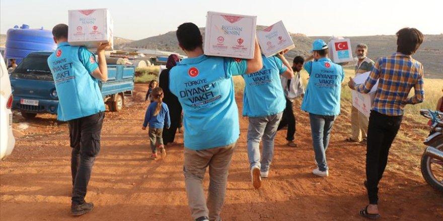 TDV, Suriye'de Ramazan Yardımlarını Sürdürüyor