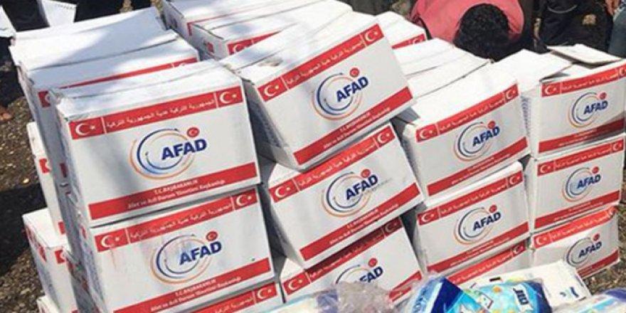 AFAD Yemen'in Marib Kentinde 5 Bin Gıda Paketi Dağıttı