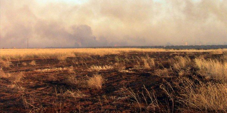 BM: Suriye'de Binlerce Dönümlük Ekili Tarım Arazisi Yakıldı
