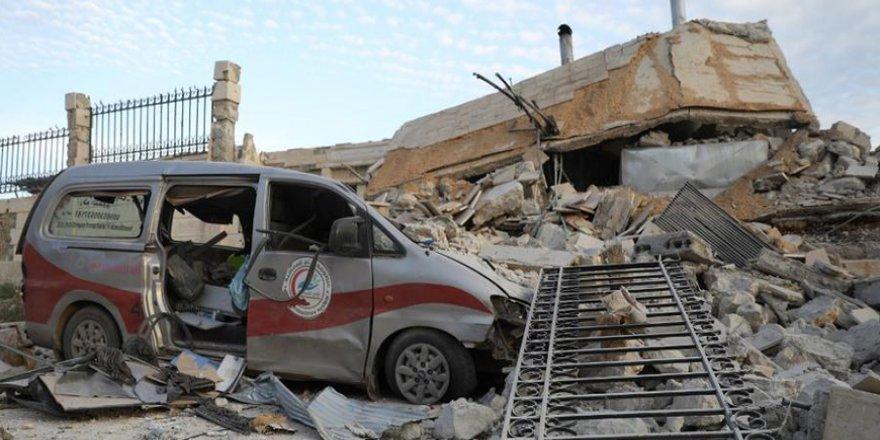 İdlib'de Hava Saldırıları Nedeniyle BM İle Hastane Koordinatları Paylaşılmayacak
