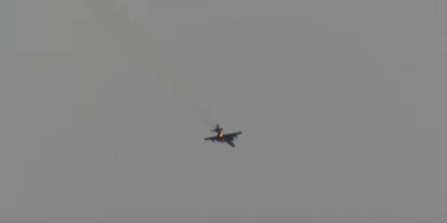 Tahrir'uş Şam Hama'da Savaş Uçağı Vurdu