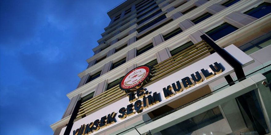 YSK'dan AK Parti'nin İtirazına Ret