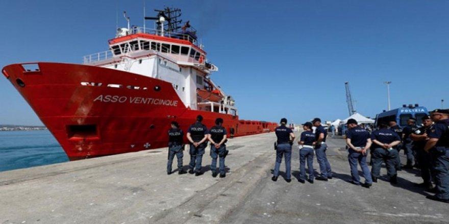 İtalya Kurtarma Gemilerine Ağır Cezalar Getirmeye Hazırlanıyor