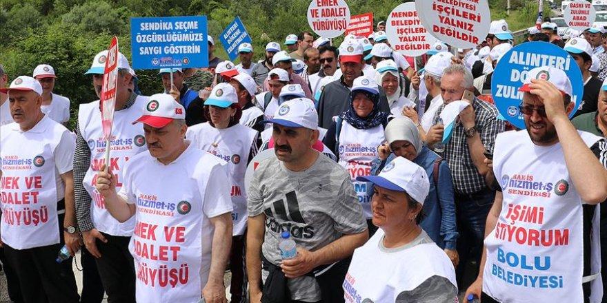 'Emek ve Adalet Yürüyüşü'nün İkinci Günü Tamamlandı