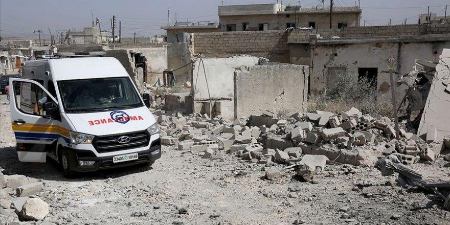 Esed Rejimi İdlib'deki Saldırılarını Sürdürüyor